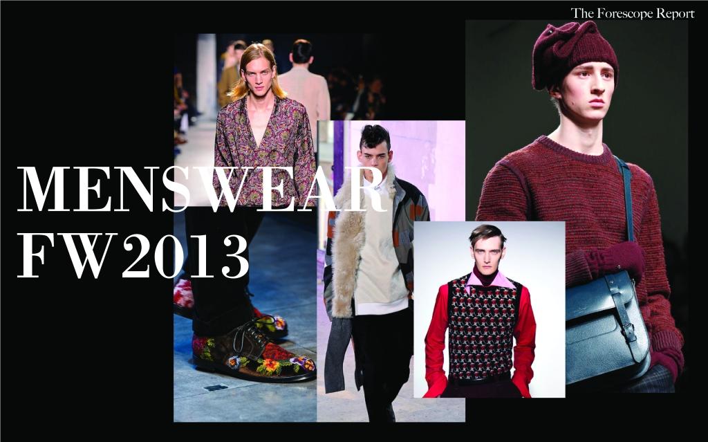 FW2013 Menswear