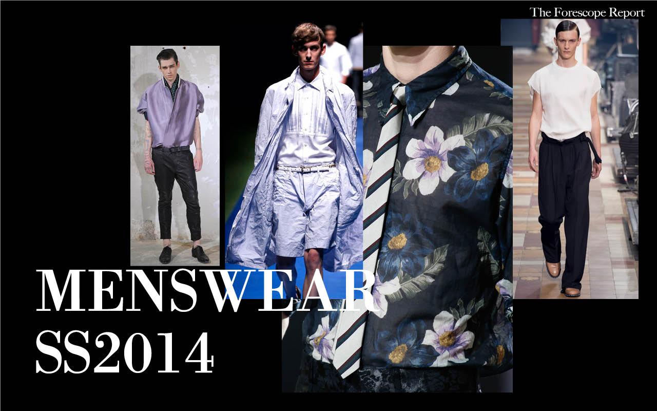 SS14 Menswear TrendReport