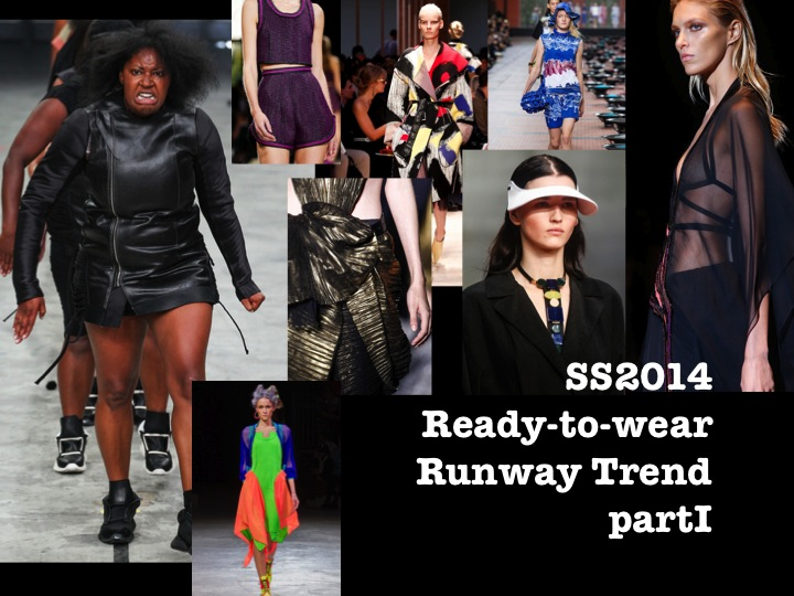 SS2014 Ready-to-wear Runway Trend Report