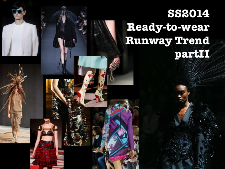 SS2014 Ready-to-wear Runway Trend Report part2